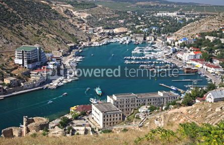 Nature: Balaklava bay near Sevastopol Crimea Ukraine #08343
