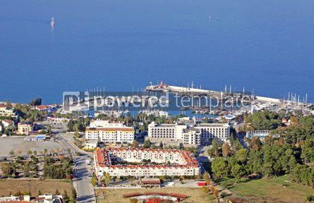 Nature: Sea port of Kemer city Antalya province Turkey #08344