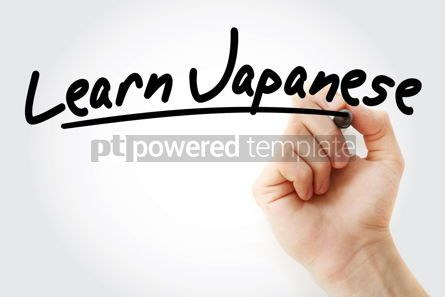 Business: Hand writing Learn Japanese with marker #08483