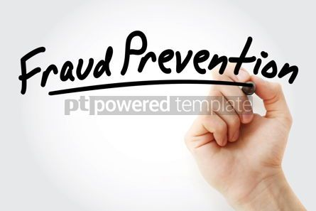 Business: Hand writing Fraud prevention with marker #08511
