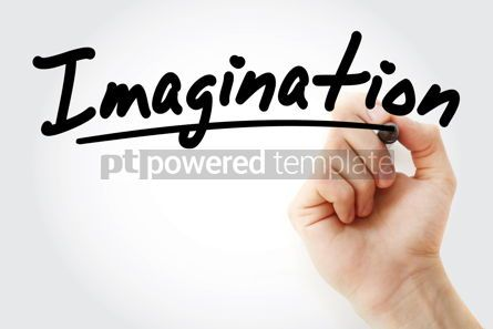 Business: Hand writing Imagination with marker #08521
