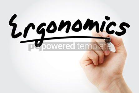 Business: Hand writing Ergonomics with marker #08562