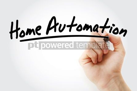 Business: Hand writing Home automation with marker #08579