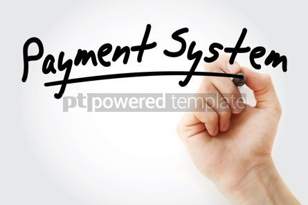 Business: Hand writing Payment system with marker #08629