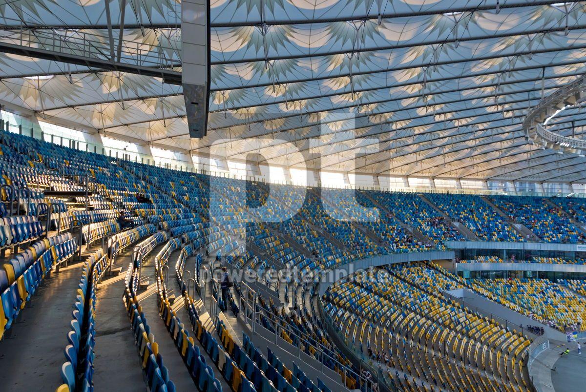 NSC Olympic stadium in Kyiv Ukraine, 08686, Sports  — PoweredTemplate.com