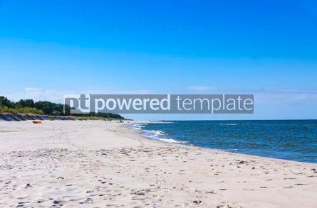 Nature: Sandy beach on Hel Peninsula Baltic sea Poland #08697