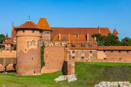 Architecture : Malbork castle in Pomerania region of Poland #08711