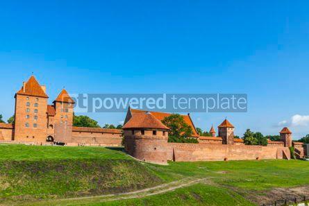 Architecture : Malbork castle in Pomerania region of Poland #08712