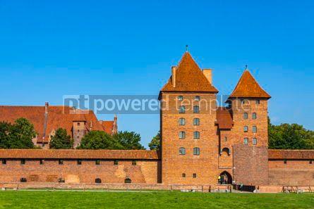 Architecture : Malbork castle in Pomerania region of Poland #08713
