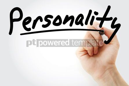 Business: Hand writing Personality with marker #08788