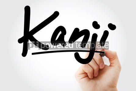 Business: Hand writing Kanji with marker #08833
