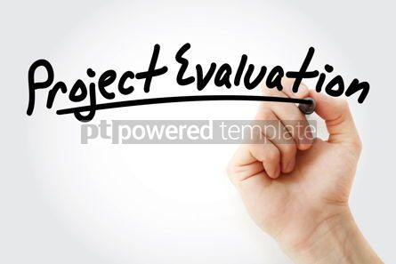 Business: Hand writing project evaluation with marker #08940