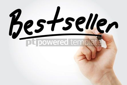 Business: Hand writing Bestseller with marker #09132