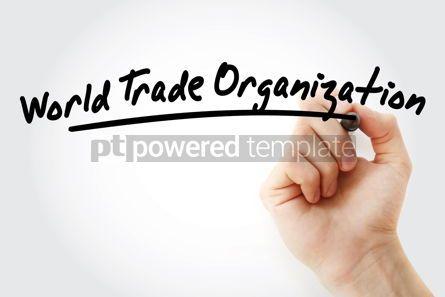 Business: WTO - World Trade Organization acronym #09186