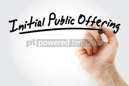Business: IPO - Initial Public Offering acronym #09191