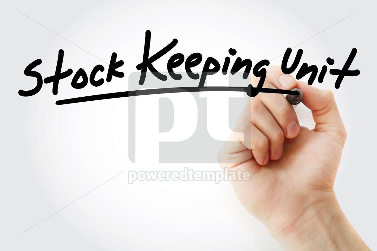 SKU - Stock Keeping Unit acronym, 09204, Business — PoweredTemplate.com