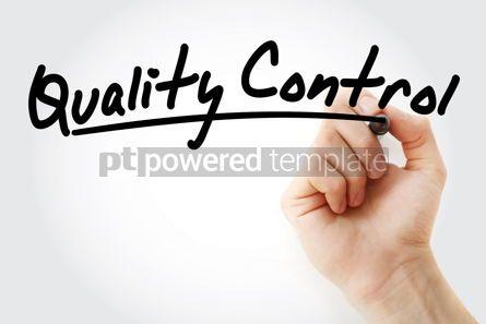 Business: QC - Quality Control acronym #09212