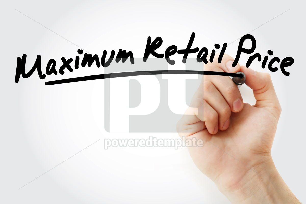 MRP - Maximum Retail Price acronym, 09214, Business — PoweredTemplate.com