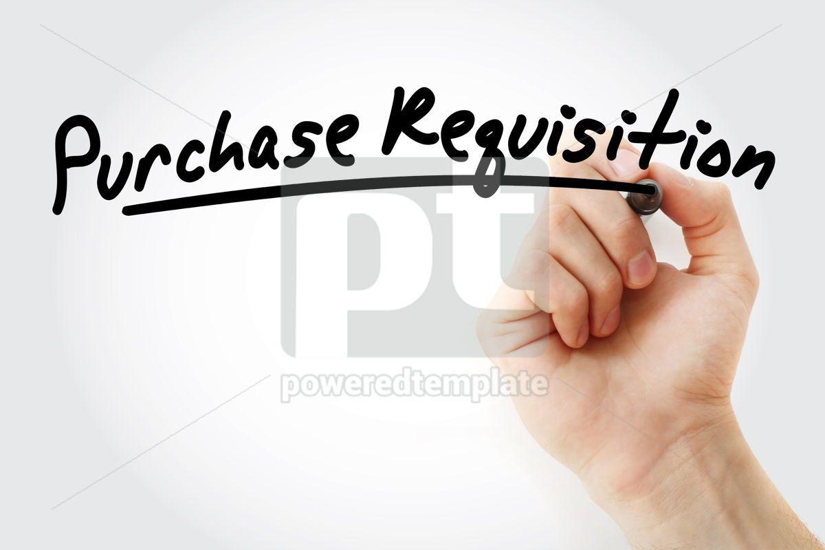 PR - Purchase Requisition acronym, 09218, Business — PoweredTemplate.com