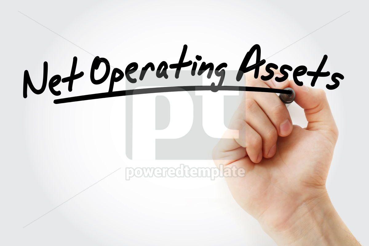 NOA - Net Operating Assets acronym, 09225, Business — PoweredTemplate.com