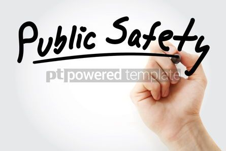 Health: Public Safety text with marker #09235
