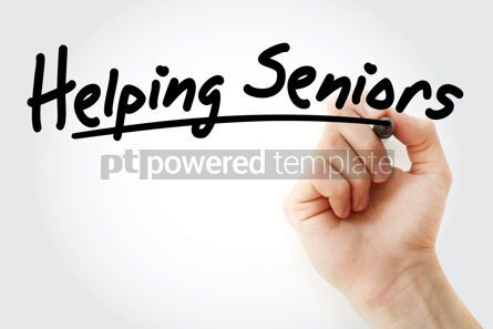 Health: Helping Seniors text with marker #09240