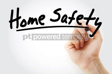 Health: Home Safety text with marker #09242