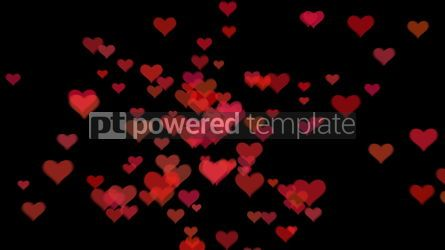 Abstract: Valentine's day background with hearts #09276
