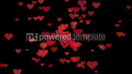 Abstract: Valentine's day background with hearts #09277