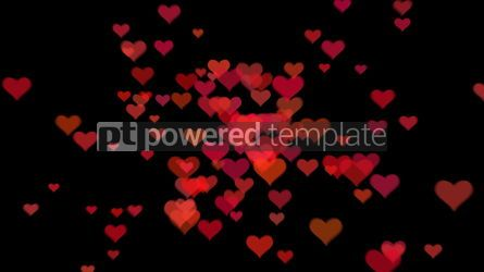 Abstract: Valentine's day background with hearts #09278