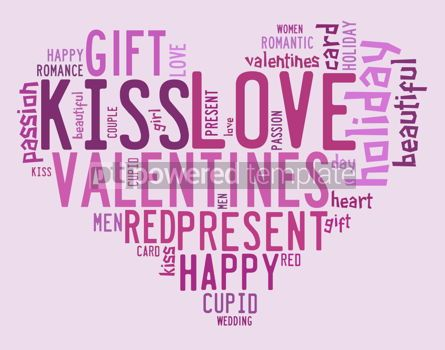 Abstract: Valentines day concept in word tag cloud #09280
