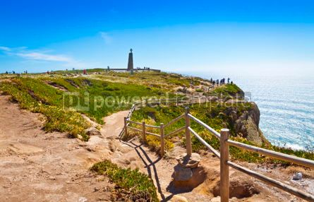 Nature: Cabo da Roca the most western point of Europe Portugal #09292