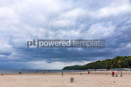 Nature: Municipal beach in Gdynia Baltic sea Poland #09298