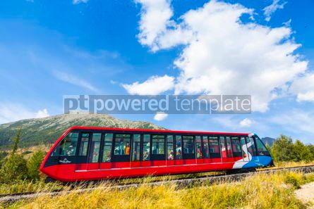 Transportation: Cable railway in High Tatras Slovakia #09319