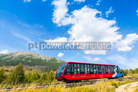 Transportation: Cable railway in High Tatras Slovakia #09320
