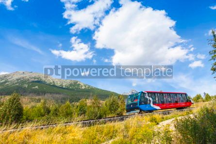 Transportation: Cable railway in High Tatras Slovakia #09322
