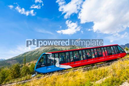 Transportation: Cable railway in High Tatras Slovakia #09323