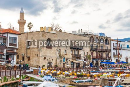 Nature: Kyrenia (Girne) old harbour Northern Cyprus #09339