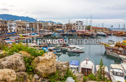 Nature: Kyrenia (Girne) old harbour Northern Cyprus #09340