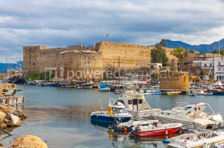 Nature: Kyrenia (Girne) old harbour Northern Cyprus #09342