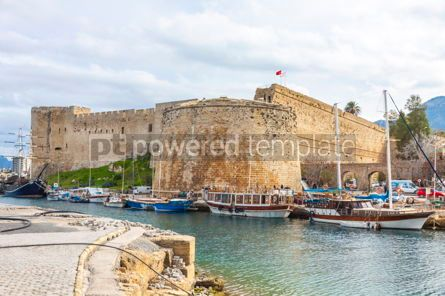 Nature: Kyrenia (Girne) old harbour Northern Cyprus #09343