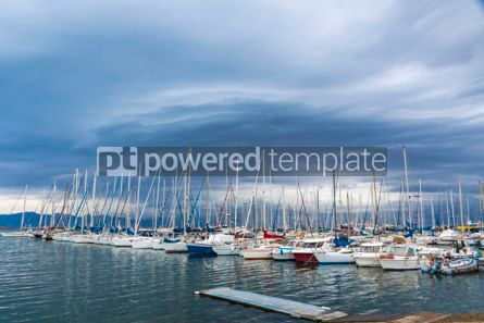 Nature: Boats in the Port of Cagliari Sardinia Italy #09344