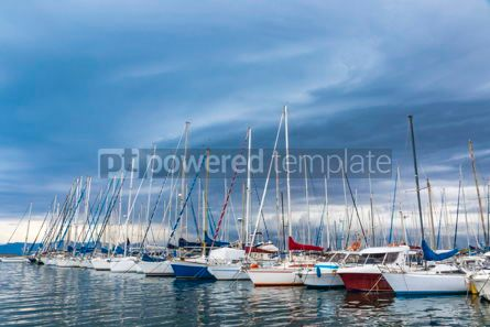 Nature: Boats in the Port of Cagliari Sardinia Italy #09345