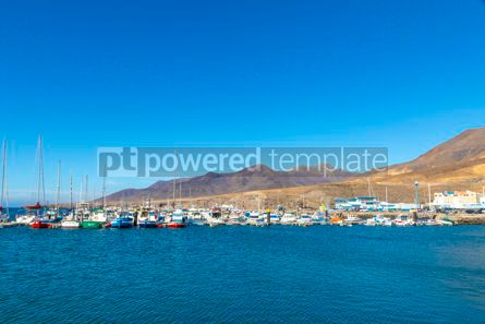 Nature: Port of Morro Jable Fuerteventura island Canary Islands Spain #09350