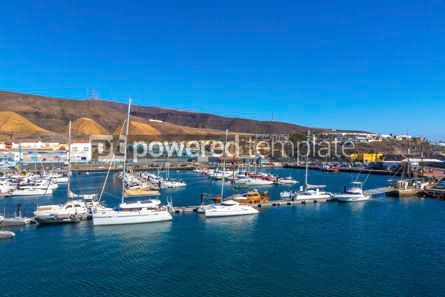 Nature: Port of Morro Jable Fuerteventura island Canary Islands Spain #09351