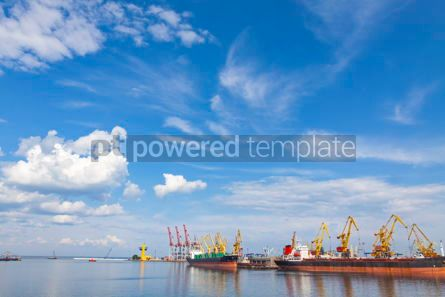Industrial: Sea port of Odessa Black Sea Ukraine #09360