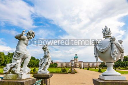 Architecture : Charlottenburg Palace in Berlin Germany #09364