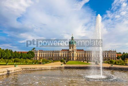Architecture : Charlottenburg Palace in Berlin Germany #09366