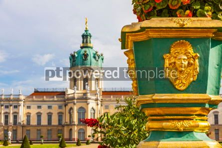 Architecture : Charlottenburg Palace in Berlin Germany #09367