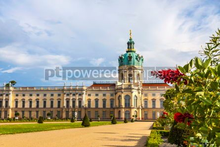Architecture : Charlottenburg Palace in Berlin Germany #09368